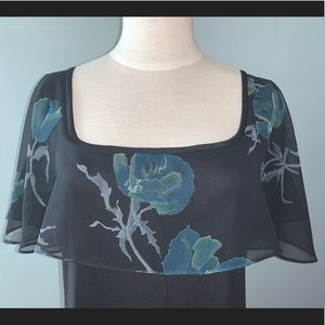 Rare Find Vintage Floral One of a Kind 70's Dress